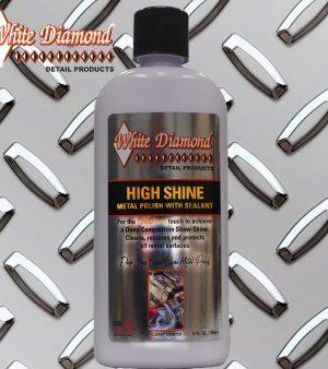White Diamond High Shine Finishing Metal Polish