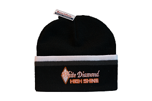 d950e4886e5 White Diamond High Shine Beanie Hat